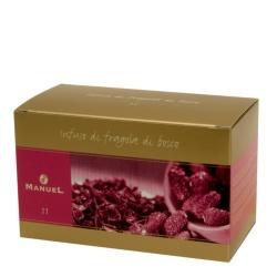 Herbata w saszetkach Manuel Caffé Poziomka, 20 szt.