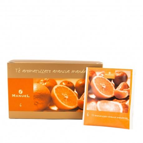 Herbata w saszetkach Manuel Caffé Pomarańcza z mandarynką, 20 szt.