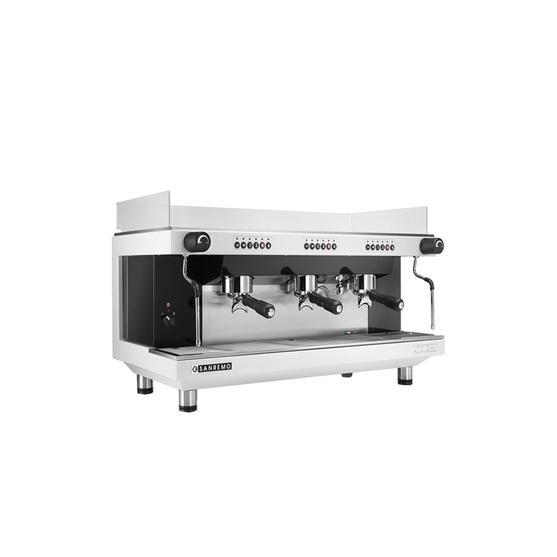 coffee machine sanremo zoe 3 group. Black Bedroom Furniture Sets. Home Design Ideas