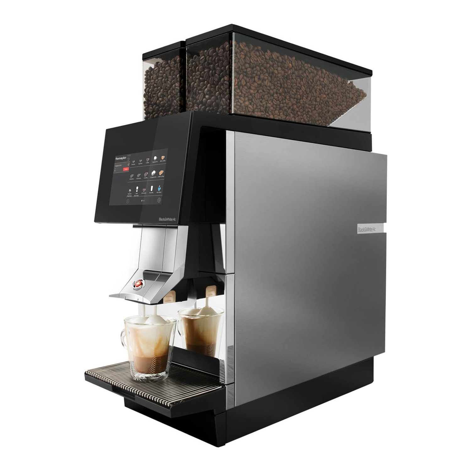 super automatic professional coffee machine thermoplan. Black Bedroom Furniture Sets. Home Design Ideas
