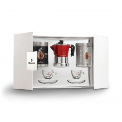 Gift box with Mokka pot
