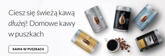 Domowe kawy w puszkach